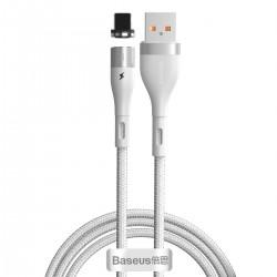 USB magnetic cable - Lightning Baseus Zinc 2.4A 1m (green)