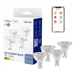 Yeelight GU10 Dimmable Bulb (White) 4pcs