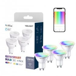Yeelight GU10 Smart Bulb W1 (color) - 4pcs