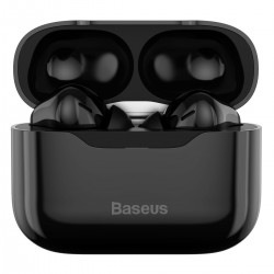 Baseus S1 earphones TWS with ANC, Bluetooth 5.1 (black)