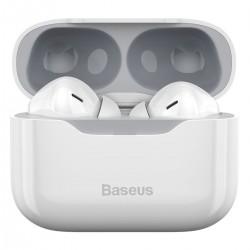 Baseus S1 earphones TWS with ANC, Bluetooth 5.1 (white)
