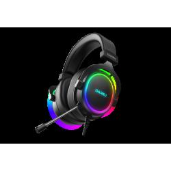 Dareu EH925 gaming headphones, RGB, 7.1 (black)
