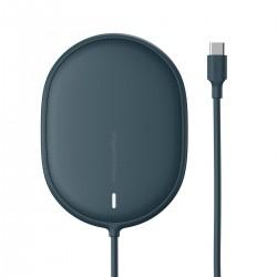 Bezprzewodowa ładowarka indukcyjna Baseus Light do iPhone 12, 15W (niebieska)