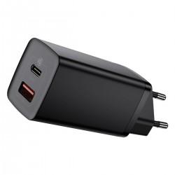Baseus GaN2 Lite Quick Travel Charger USB+C 65W EU (black)