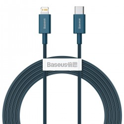 Baseus Superior Series Cable USB-C to iP, 20W, PD, 2m (blue)