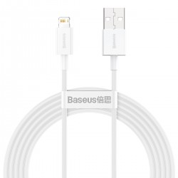 Baseus Superior Series Cable USB to iP 2.4A 2m (white)