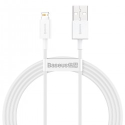 Baseus Superior Series Cable USB to Lightning 2.4A 1,5m (white)