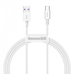 Baseus Superior Series Cable USB to USB-C, 66W, 1m (white)