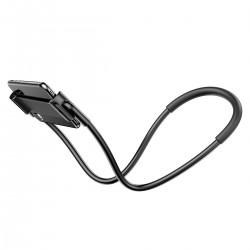 """Baseus Neck-Mounted Lazy Bracket holder for phones and tablets 4-10"""" (black)"""