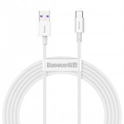 Baseus Superior Series Cable USB to USB-C, 66W, 2m (white)