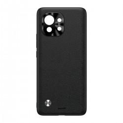 Baseus Alloy Leather Protective Case For Xiaomi Mi 11 Black