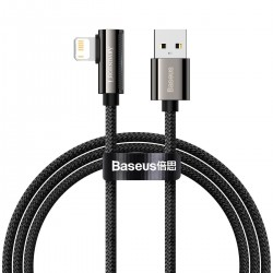 Cable USB to Lightning Baseus Legend Series, 2.4A, 1m (black)