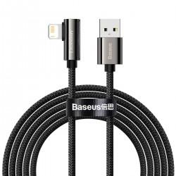 Cable USB to Lightning Baseus Legend Series, 2.4A, 2m (black)