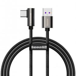 Cable USB to USB-C Baseus Legend Series, 66W, 1m (black)