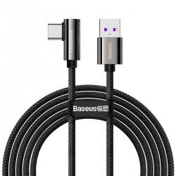 Cable USB to USB-C Baseus Legend Series, 66W, 2m (black)