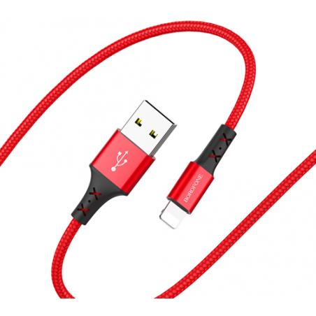 "Borofone Data Cable Charging BX20 ""ENJOY"" Lightning 1 meter 2 Amper"