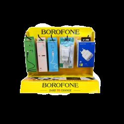 Espositore Borofone da banco in cartone con ganci - ACCESSORI NON INCLUSI -
