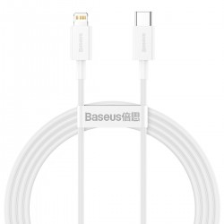 Baseus Superior Series Cable USB-C to Lightning, 20W, PD, 1,5m (white)
