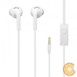 Cuffie auricolari stereo via cavo Originali Samsung EHS61 controllo volume+microfono bianco