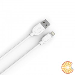 1 meter white USB Lightning cable 2.1A high compatibility IOS for Iphone 5 6 7 8 X