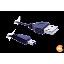USB to mini USB cable 50cm black