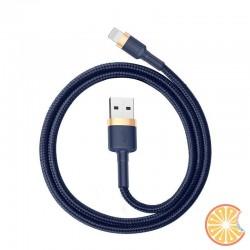 Baseus Cafule Lightning cable 2.4A 1m (Gold+Dark blue)