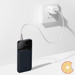 Baseus Magnetic 20W Wireless charger power bank, 10000mAh, USB + USB-C (blue)