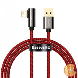Cable USB to Lightning Baseus Legend Series, 2.4A, 1m (red)