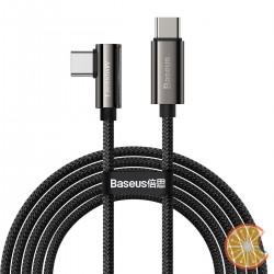 Cable USB-C to USB-C Baseus Legend Series, PD, 100W, 2m (black)
