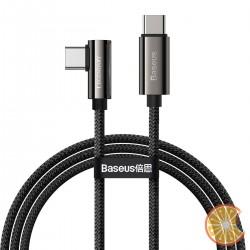 Cable USB-C to USB-C Baseus Legend Series, PD, 100W, 1m (black)