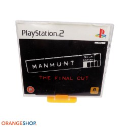 "Manhunt ""The final cut"" Playstation 2 Promo press version raro rockstar games"