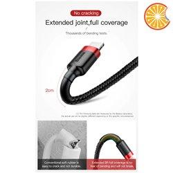 Cavo Iphone Lightning Apple corda per iphone 2.4A dati ricarica rapida Baseus