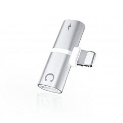 ADAPTER LIGHTNING - HF/LIGHTNING silver