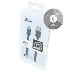 CAVO USB ACURA MICRO CU5 0,8M BOX nero
