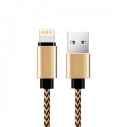 CAVO USB ATX BRAIDED IPH 5 oro