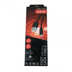 CAVO USB ATX BRAIDED MICRO USB argento