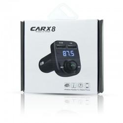 FM CAR X8 2 USB BLUETOOTH TRANSMITER