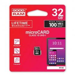 GOODRAM MICRO.SD 32GB C10 UHS NO ADAPTER