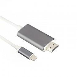 KABEL HDMI - TYP C white