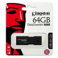 KINGSTON PENDRIVE 100 G3 USB 3.0 64GB