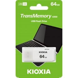 KIOXIA HAYABUSA USB 2.0 64GB white