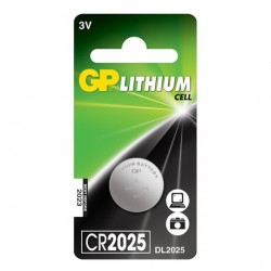 LITHIUM BATTERY GP 3V CR2025 1 pc