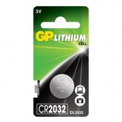 LITHIUM BATTERY GP 3V CR2032 1 pc