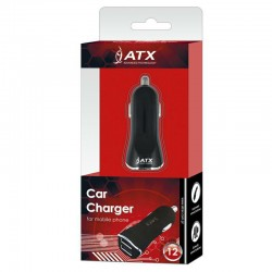 SET MICRO CABLE + CAR CHARGER BOX black