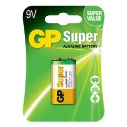 SUPERALKALINE BATTERY GP 9V 6LF22 1 pc