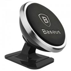 Baseus Magnetic car holder for smartphone - silver