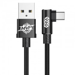 Baseus MVP Elbow angled cable USB Type-C 2A 1m - black