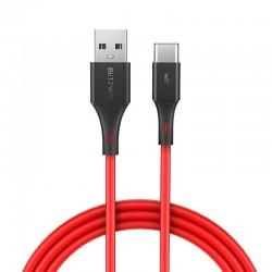 Kabel USB-C BlitzWolf BW-TC14 3A 1m (czerwony)