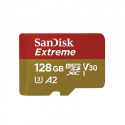 Memory card SanDisk microSDXC 128GB Drony / GoPro (klasa A2) (SDSQXA1-128G-GN6MA)
