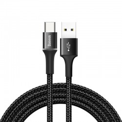 Baseus Halo Data Cable USB-C LED 2A 2m (Black)